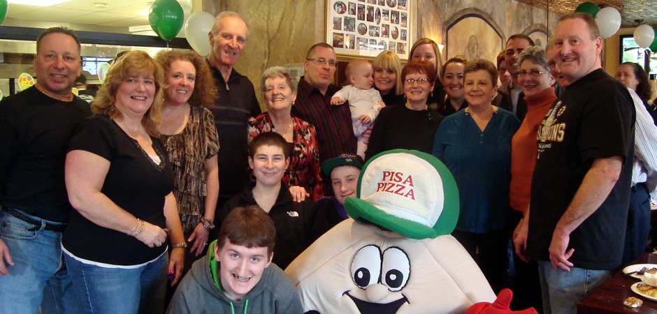 Anyone who knows Pisa Pizza, knows that it's all about family.